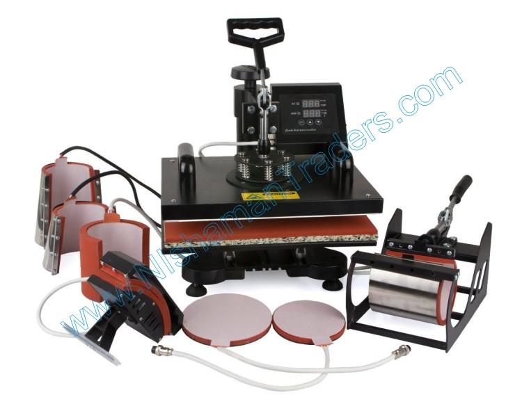 Sublimation 7 in 1 heat press machine New Design